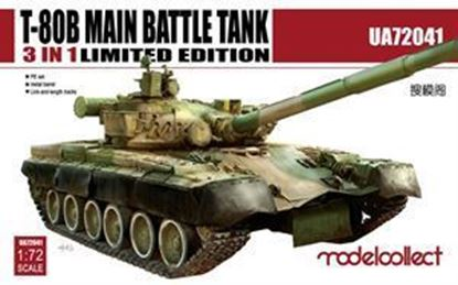 Picture of T-80B Main Battle Tank Ultra Ver. 3 in 1, Limited